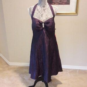 Purple coctail  dress